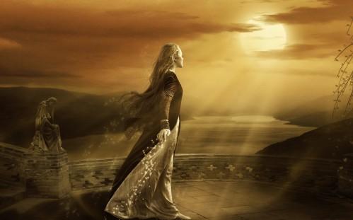elegant-fantasy-girl-walking-towards-the-sun