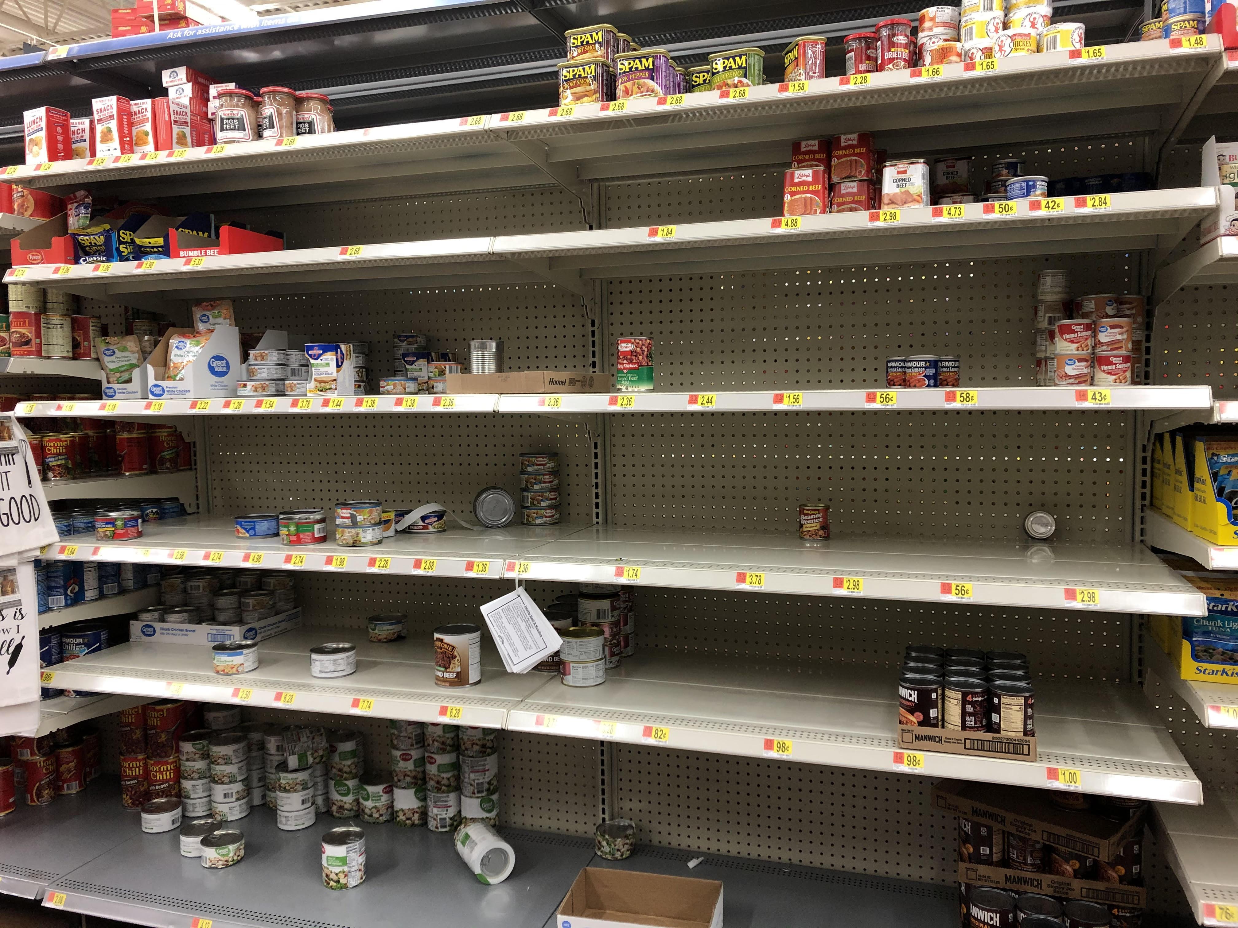 Empty Walmart